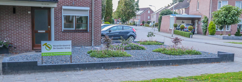 Onderhoudsvriendelijke moderne tuin